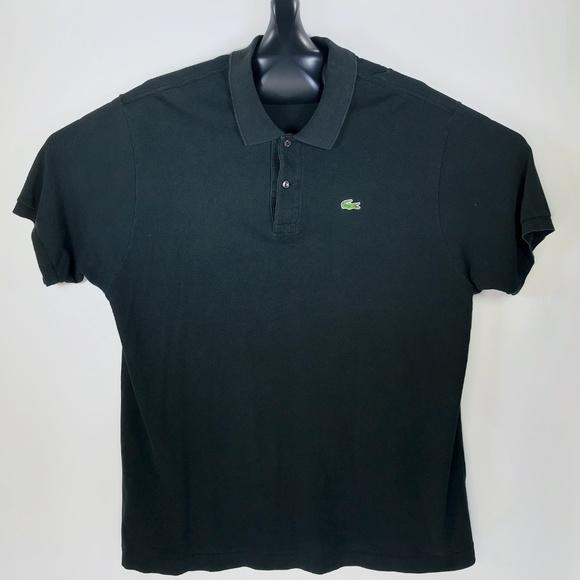 f0be64e2 Lacoste Shirts   Mens Golf Polo Croc Black Size 8 Xl Shirt   Poshmark